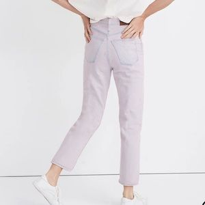Madewell The Mom Jean: Overdyed Edition Momjean